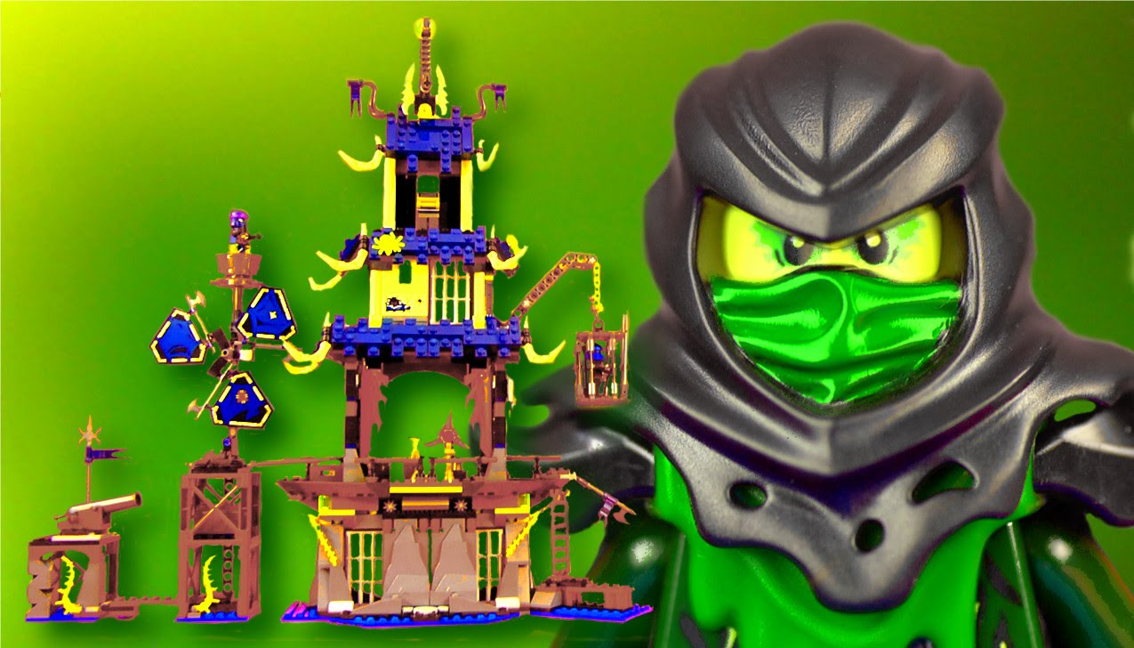 Lego Ninjago 70732 City Of Stiix Blocksvideo