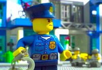 Lego City Police Lego Firetruck Fireman Movie Cartoons About Lego