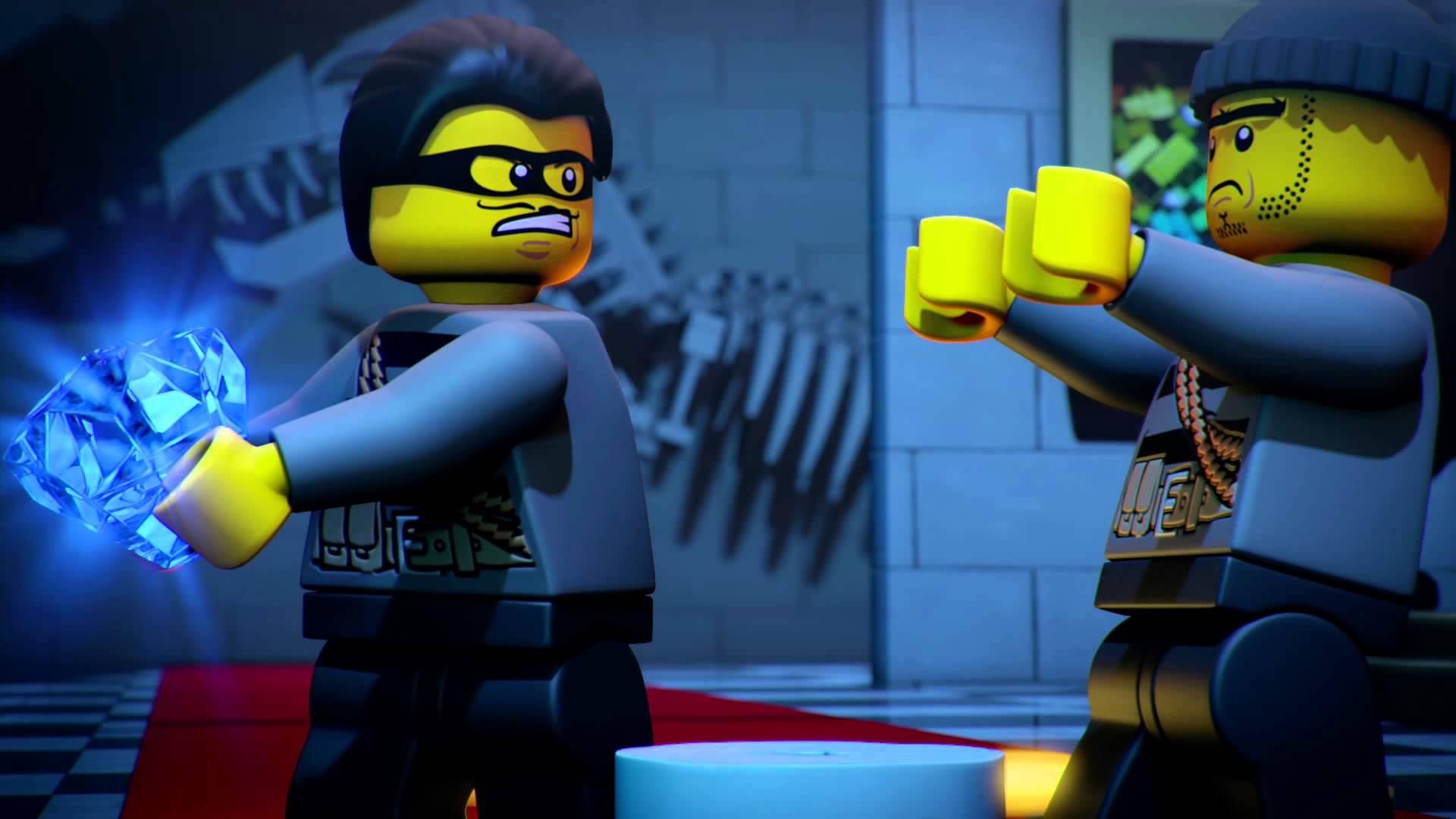 Museum Heist Lego City Mini Movie Blocksvideo